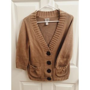 Chico's Sweater Tan Brown
